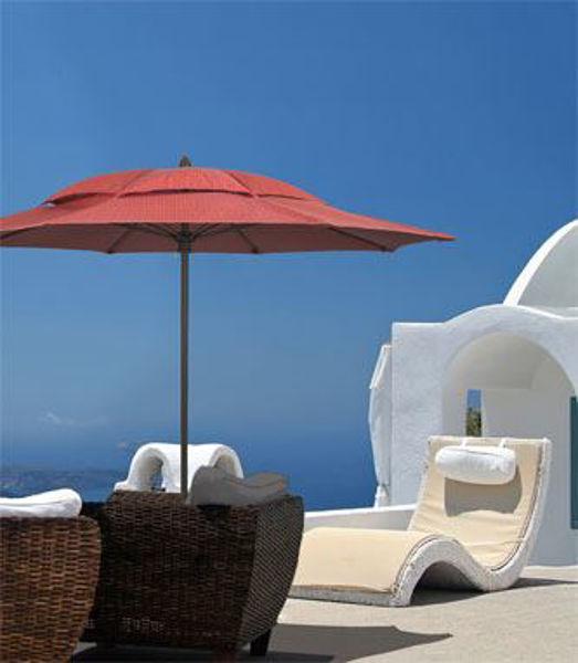 Picture of FiberBuilt 11 Ft Aruba Canopy Umbrella