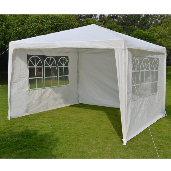 Picture of FiberBuilt 10 Ft Deluxe Tent with canopy & side walls