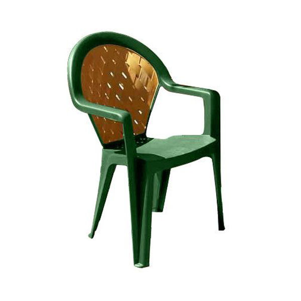 Picture of Grosfillex Amazona Highback Stacking Armchair In Amazon Green Pack Of 4