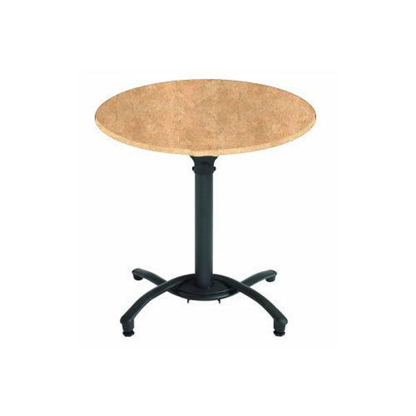 """Picture of Grosfillex 30"""" Round Table Top Without Umbrella Hole In Catalan Pack Of 1"""