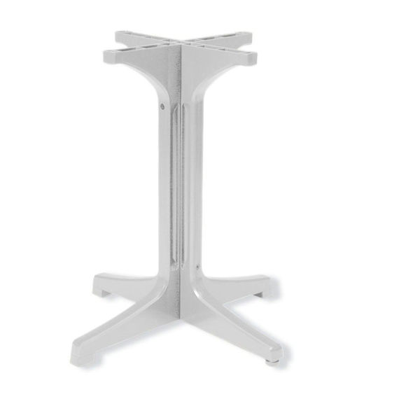 Picture of Grosfillex Resin Pedestal Base 1000 In White Pack Of 1