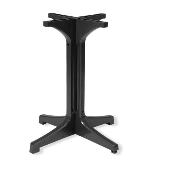 Picture of Grosfillex Resin Pedestal Base 1000 In Charcoal Pack Of 1