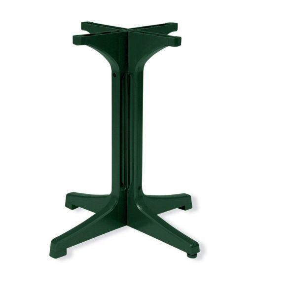 Picture of Grosfillex Resin Pedestal Base 1000 In Amazon Green Pack Of 1