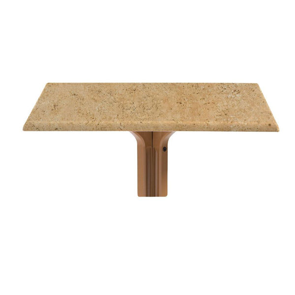 """Picture of Grosfillex 36"""" Square Table Top Without Umbrella Hole In Catalan Pack Of 1"""