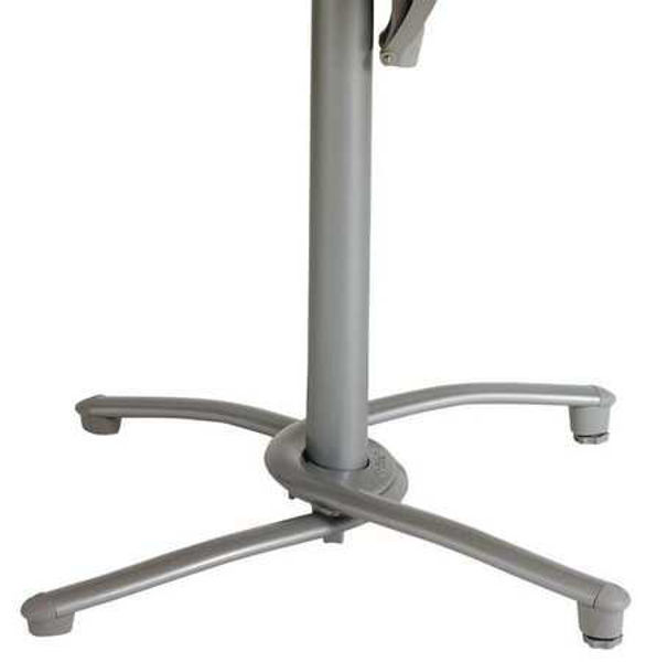Picture of Grosfillex Aluminum Tilt Top Base 200 In Silver Gray Pack Of 1
