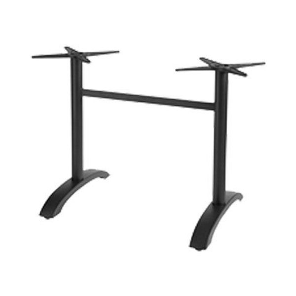 Picture of Grosfillex Aluminum Lateral Table Base In Black Pack Of 1