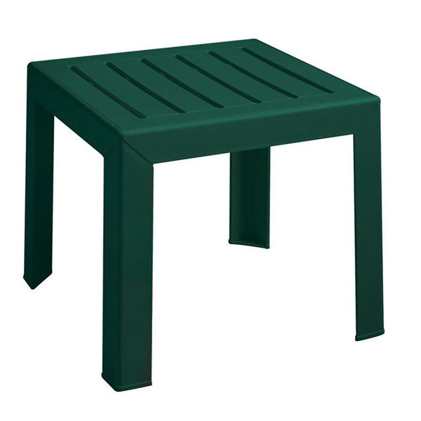 Picture of Grosfillex Bahia 16' x 16' Low Table In Amazon Green Pack Of 1