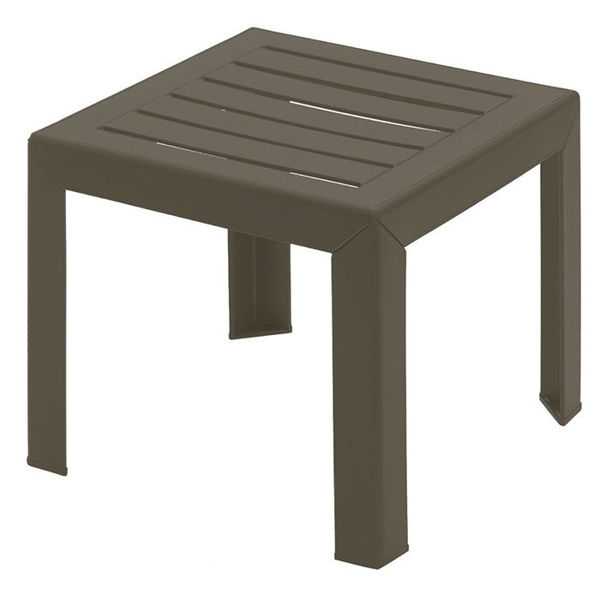 Picture of Grosfillex Bahia 16' x 16' Low Table In Bronze Pack Of 1