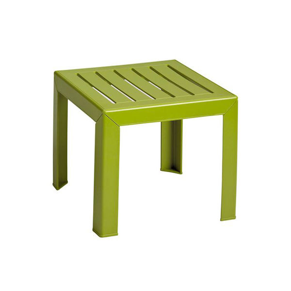 Picture of Grosfillex Bahia 16' x 16' Low Table In Fern Green Pack Of 1