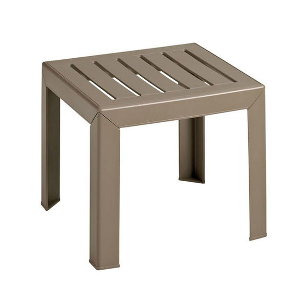 Picture of Grosfillex Bahia 16' x 16' Low Table In Taupe Pack Of 1