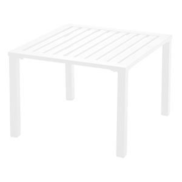 Picture of Grosfillex Atlantica 20' x 20' Low Table In White Pack Of 1