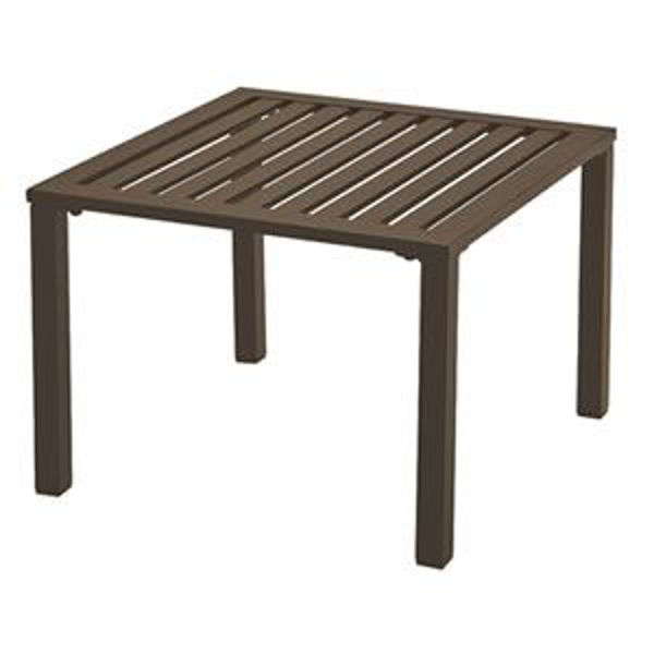 Picture of Grosfillex Atlantica 20' x 20' Low Table In Bronze Pack Of 1