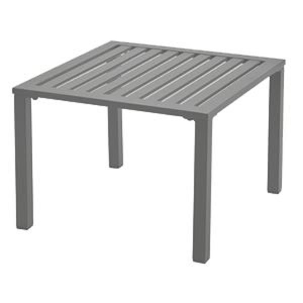 Picture of Grosfillex Atlantica 20' x 20' Low Table In Platinum Gray Pack Of 1