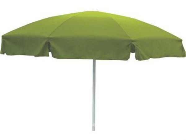 """Picture of Grosfillex 7.5 Ft. Push Up Umbrella with 1 1/2"""" Pole In Forest Green Pack Of 1"""