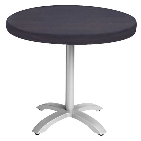 """Picture of Grosfillex VanGuard 30"""" Round Tabletop In Wenge Pack Of 1"""