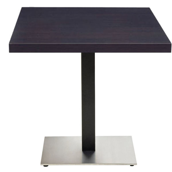 """Picture of Grosfillex VanGuard 30"""" Square Tabletop In Wenge Pack Of 1"""