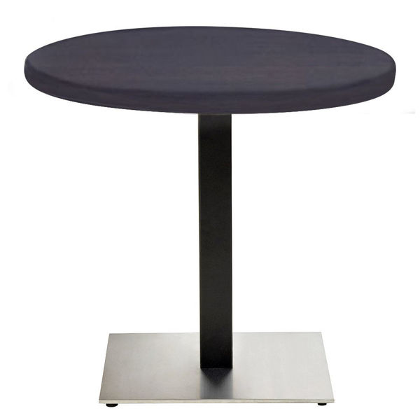 "Picture of Grosfillex VanGuard 36"" Round Tabletop In Wenge Pack Of 1"