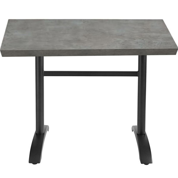 Picture of Grosfillex VanGuard 48' x 30' Tabletop In Gray Pack Of 1